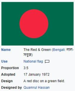 flag of bangaldesh